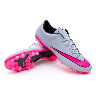 Chuteira  Nike Mercurial Veloce II AG-R Wolf grey-Hyper pink-Black