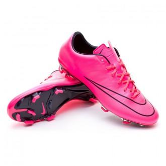 Chuteira  Nike Mercurial Veloce II FG Hyper pink-Black