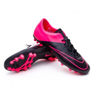 Chaussure  Nike Mercurial Victory V AG-R Black-Hyper pink-Pink power