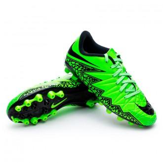 Chuteira  Nike Jr Hypervenom Phelon II AG Green strike-Black-Volt