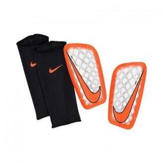 Espinillera  Nike Mercurial Flylite 2015-16 Clear-Total orange-Bright citrus
