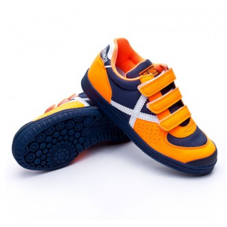 Chaussure  Munich Jr G2 Vco Naranja flúor