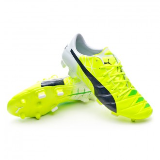 Boot  Puma Evoaccuracy 1 FG MB Fluro yellow- Peacoat