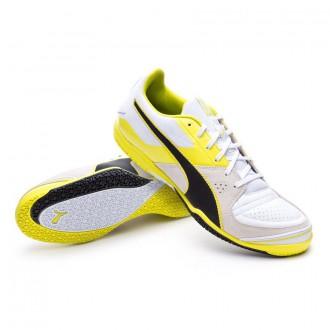 Chaussure  Puma Invicto Sala White-Black-Periscope-Sulphur spring