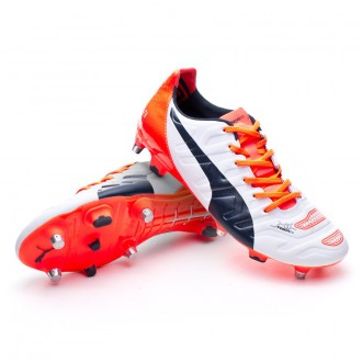 Boot  Puma evoPOWER 2.2 mixed SG White-Total eclipse-Lava blast