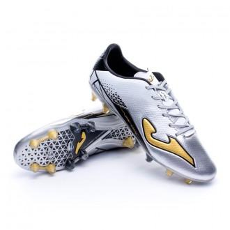 Boot  Joma Supercopa Speed FG Silver-Golden-Black