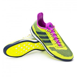 Chaussure  adidas Primeknit 2.0 Boost Yellow-White-Collegiate navy