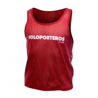 Dossard / Chasuble  Soloporteros Soloporteros ( 5 Unités) Rouge