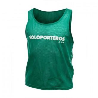 Dossard / Chasuble  Soloporteros Soloporteros ( 5 Unités) Vert