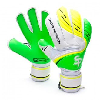 Guante  Soloporteros Keeper Nil Marin Flat Amarillo-Verde