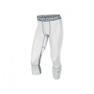 Sous short  Nike Hypercool Tight White-Cool Grey