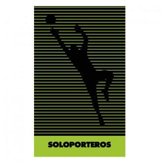 Towel  Soloporteros Microfibra Keeper 40x80cm Green