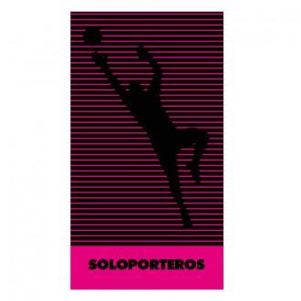 Towel  Soloporteros Microfibra Keeper 40x80cm Pink