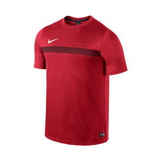 Maillot  Nike Academy SS Training Top University Red