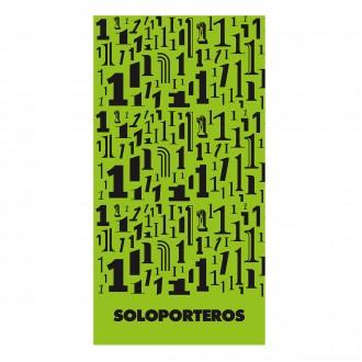 Toalla  SP Microfibra Numero 1 70x120 Verde