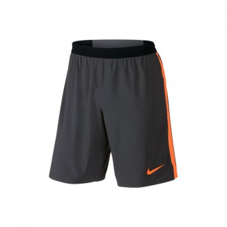 Short  Nike Strike Woven Anthracite-Total orange