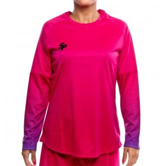T-Shirt  SP W Brasileiro Manga Larga Pink