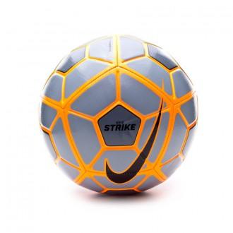 Ballon  Nike Strike 2015 Wolf grey-Total orange