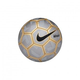 Ballon  Nike Flash Clube Sala 2015 Reflect silver-Metallic gold