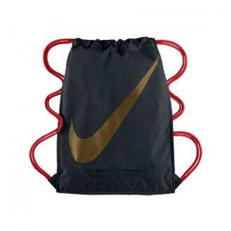 Bag  Nike FB 3.0 Black-Red-Metallic Gold