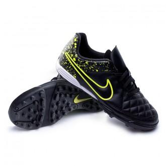 Boot  Nike Jr Tiempo Rio II TF Black-Volt