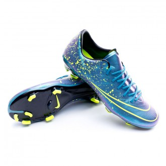 Bota  Nike Jr Mercurial Vapor X ACC FG Squadron blue-Black-Volt