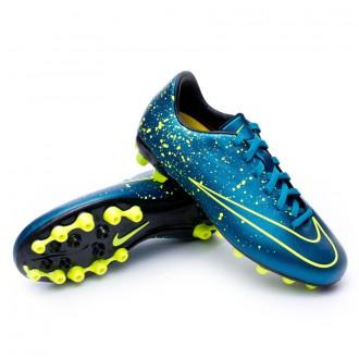 Bota  Nike Jr Mercurial Victory V AG Squadron blue-Black-Volt