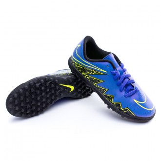 Bota  Nike Jr HyperVenom Phade II TF Hyper grape-Black-Volt