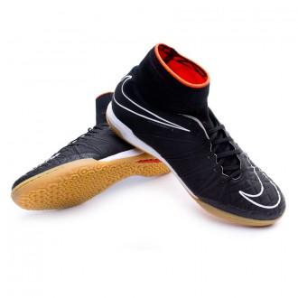 Zapatilla  Nike HypervenomX Proximo IC Black-White-Challenge red-White