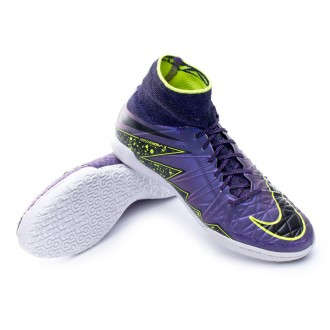 Zapatilla  Nike HypervenomX Proximo IC Hyper grape-Black-Purple-Volt