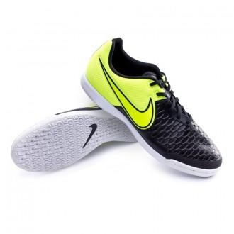 Sapatilha  Nike MagistaX Pro IC Black-Volt-White