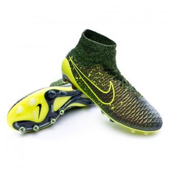 Bota  Nike Magista Obra ACC FG Dark citron-Volt-Black