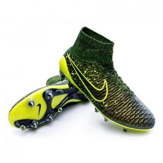 Bota  Nike Magista Obra ACC SG-Pro Dark citron-Volt-Black