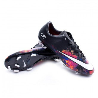 Boot  Nike Mercurial Veloce II CR FG Black-White-Total crimson-Purple