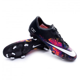 Boot  Nike Mercurial Victory V CR FG Black-White-Total crimson-Purple