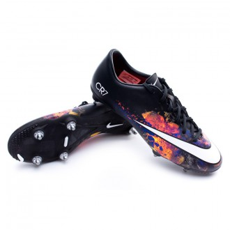 Bota  Nike Mercurial Victory V CR SG Black-White-Total crimson-Purple