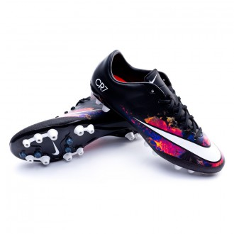 Chaussure  Nike Mercurial Veloce II CR AG-R Black-White-Total crimson-Purple