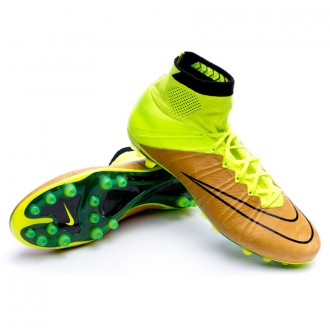 Boot  Nike Mercurial Superfly ACC Tech Craft Piel AG-R Canvas-Black-Volt