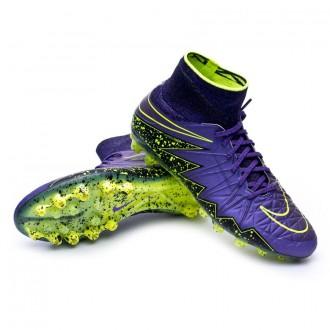 Bota  Nike HyperVenom Phantom II ACC AG-R Hyper grape-Black-Volt