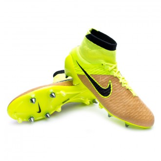 Boot  Nike Magista Obra ACC Tech Craft Piel SG-Pro Canvas-Black-Volt