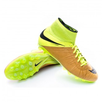 Boot  Nike HyperVenom Phantom II ACC Tech Craft Piel AG-R Canvas-Black-Volt
