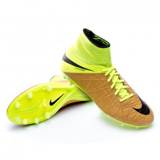 Boot  Nike HyperVenom Phantom II ACC Tech Craft Piel FG Canvas-Black-Volt