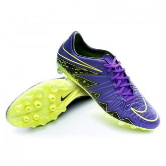 Bota  Nike HyperVenom Phatal II AG-R Hyper grape-Black-Volt