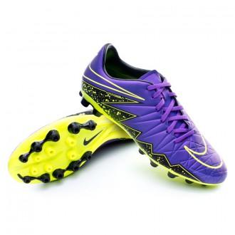 Bota  Nike HyperVenom Phelon II AG-R Hyper grape-Black-Volt