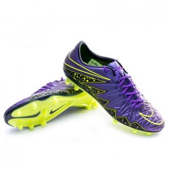 Bota  Nike HyperVenom Phinish FG Hyper grape-Black-Volt