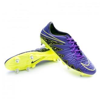 Bota  Nike HyperVenom Phatal II SG-Pro Hyper grape-Black-Volt