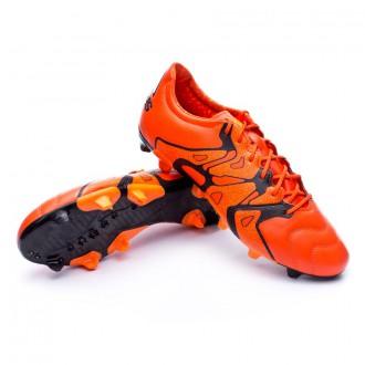 Bota  adidas X 15.2 FG/AG Piel Bold orange