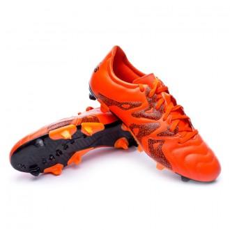 Boot  adidas X 15.3 FG/AG Piel Bold orange