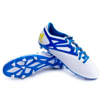 Bota  adidas Messi 15.3 FG/AG Plata-Azul