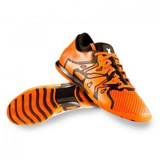 Boot  adidas X 15.1 Primeknit Court Bold orange